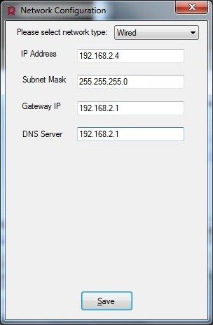 Raspbmc nastavení sítě při instalaci